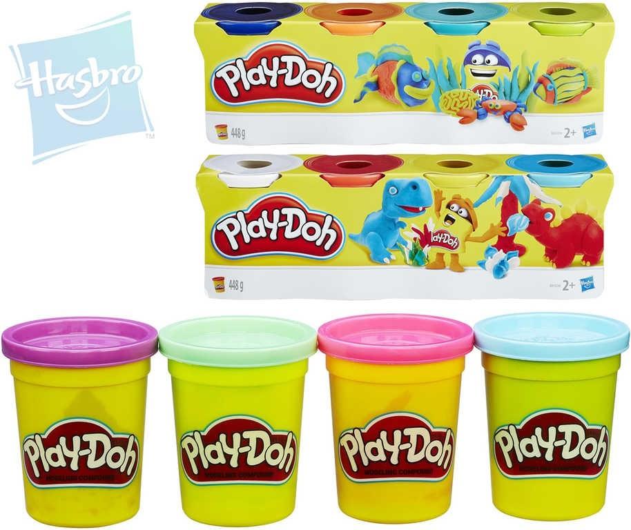 Play-Doh 4 kelímky barev