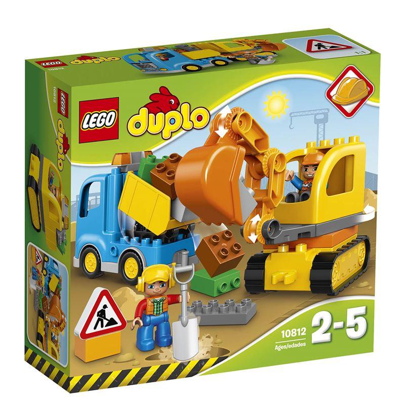 Lego Duplo 10812 náklaďák a nakladač