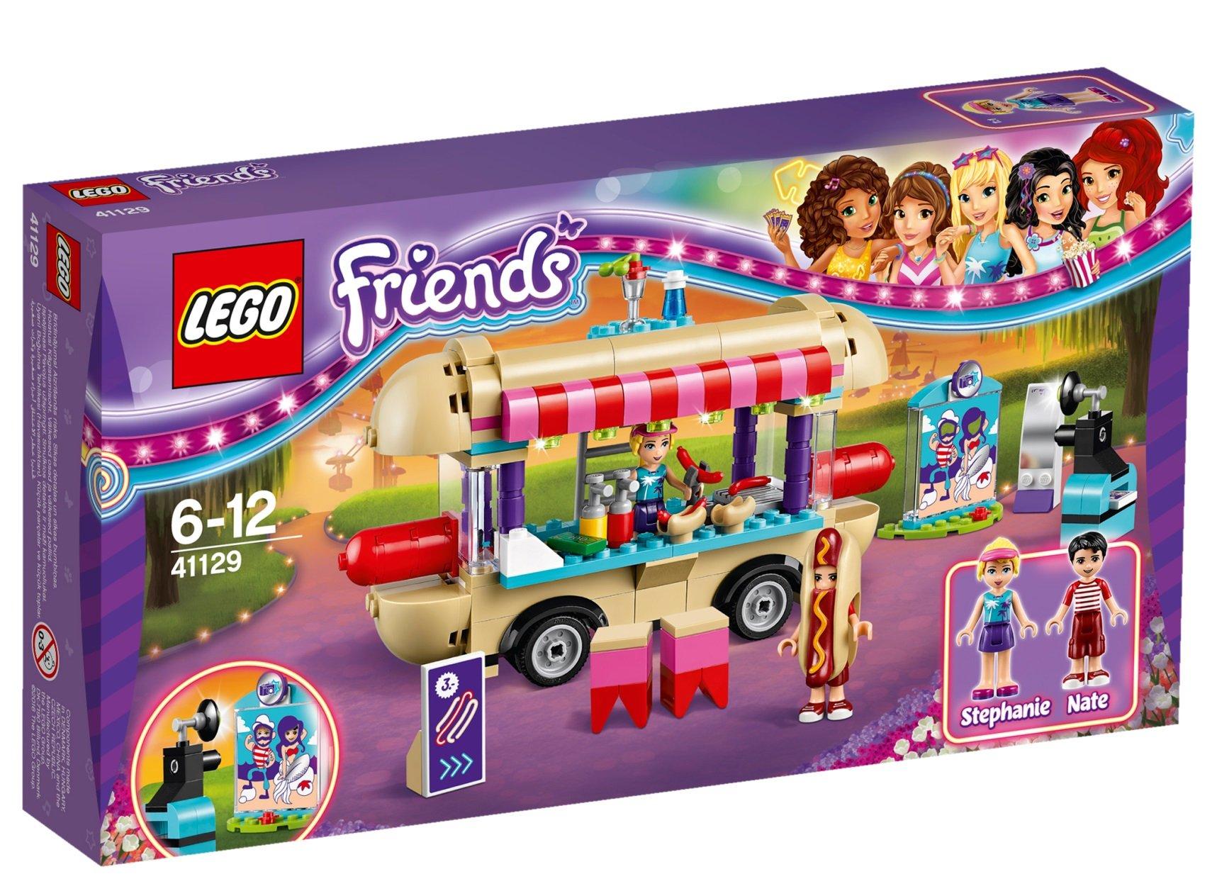 Lego FRIENDS 41129 Stánek s Hot dogy