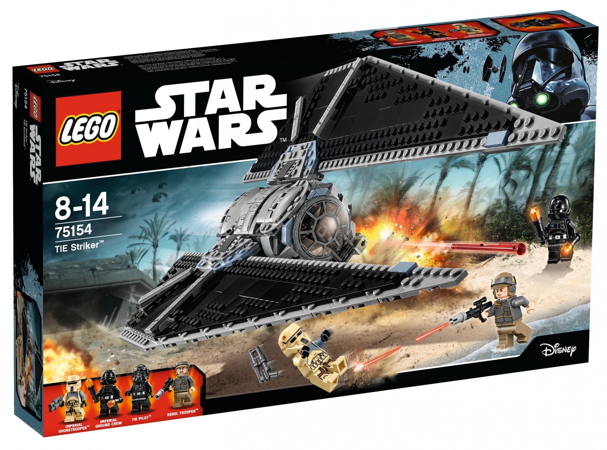LEGO Star Wars 75154 Stíhačka Tie Striker