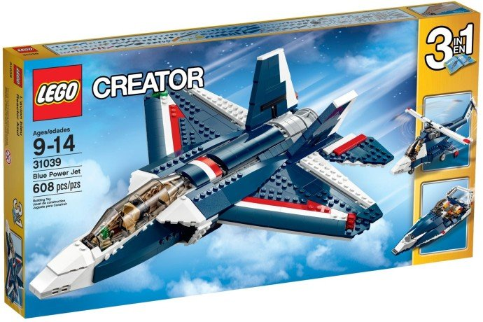 Lego Creator 31039 Stíhačka Blue Power