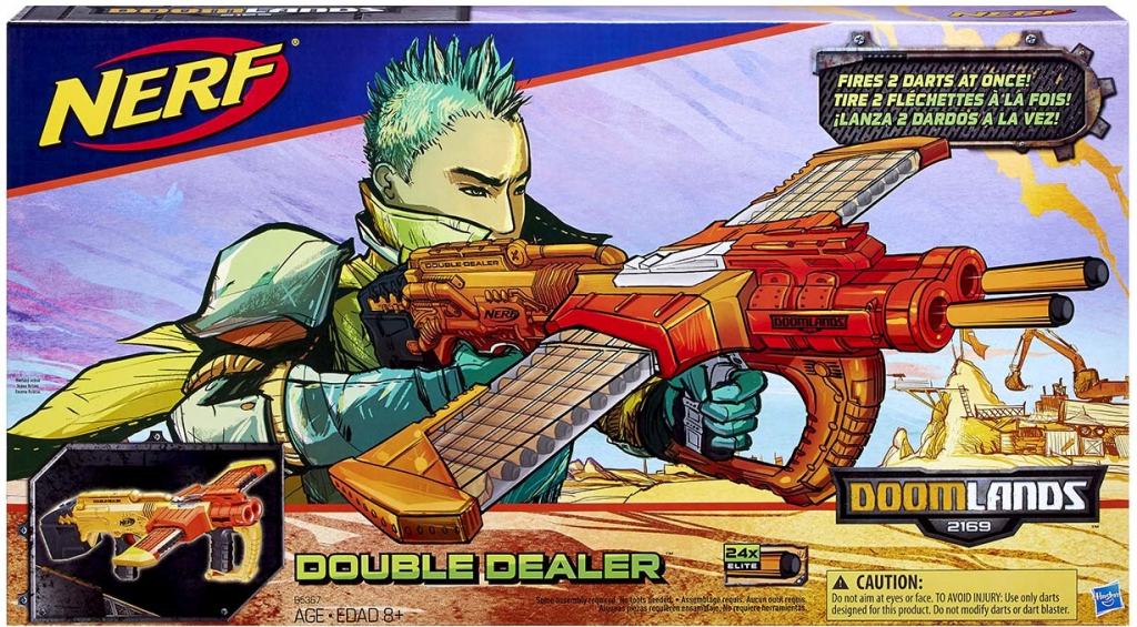 NERF DOOMLANDS Double Dealer